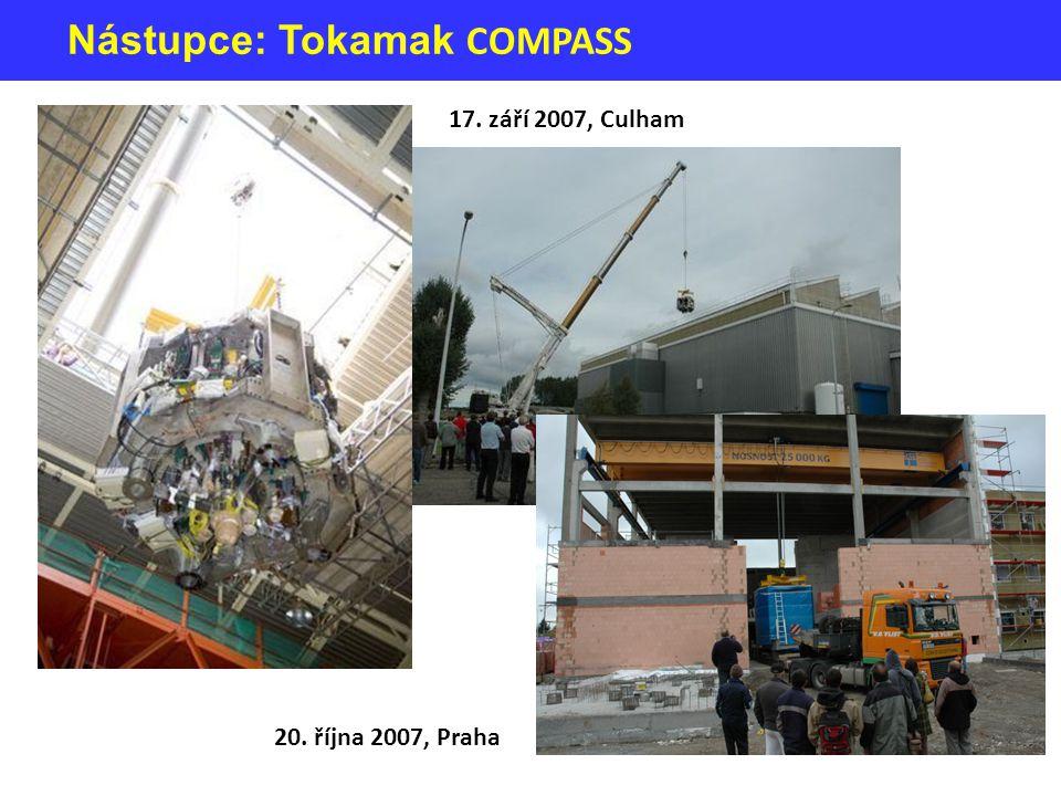 Nástupce: Tokamak COMPASS