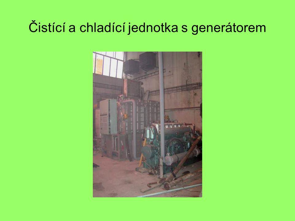 Čistící a chladící jednotka s generátorem