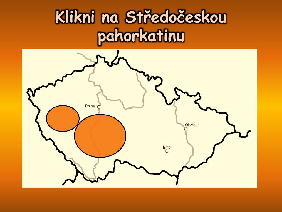 Klikni na Středočeskou pahorkatinu