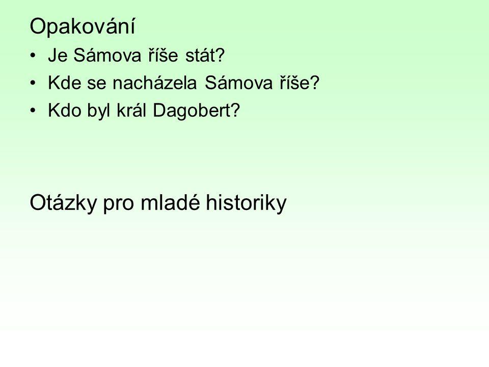 Otázky pro mladé historiky
