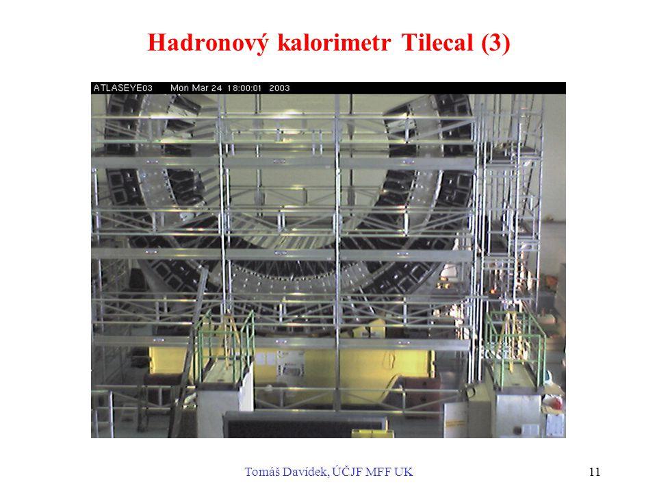 Hadronový kalorimetr Tilecal (3)