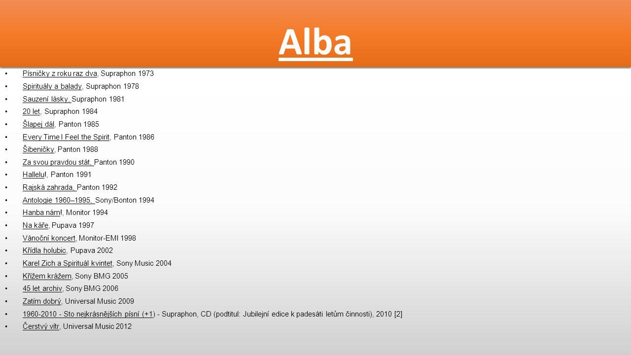 Alba Písničky z roku raz dva, Supraphon 1973
