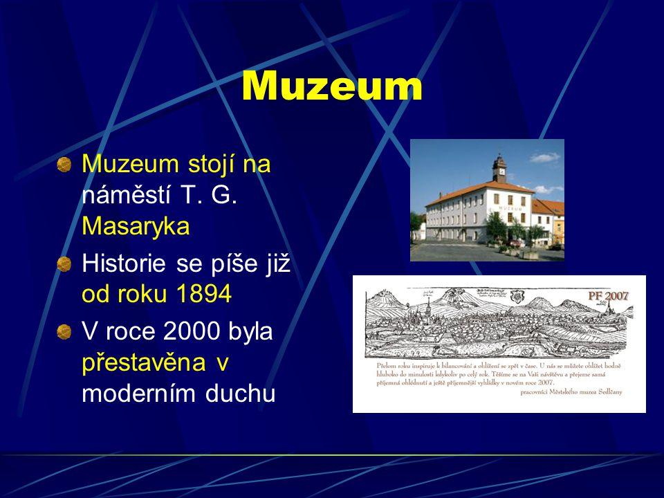 Muzeum Muzeum stojí na náměstí T. G. Masaryka