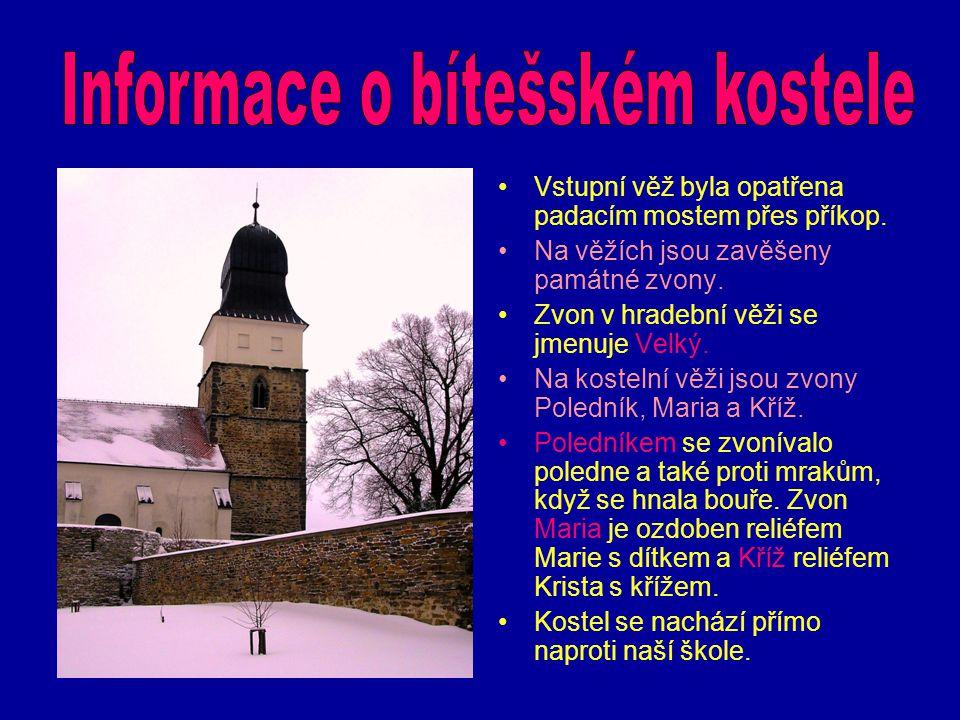 Informace o bítešském kostele