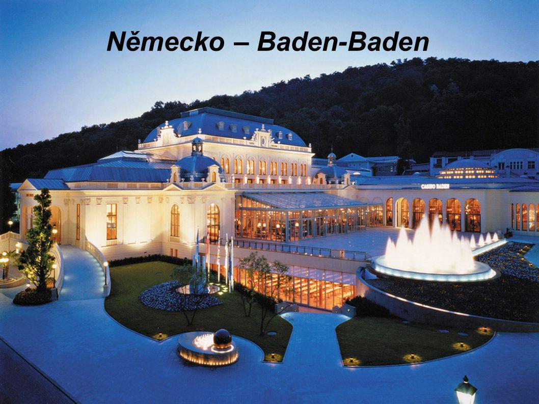Německo – Baden-Baden