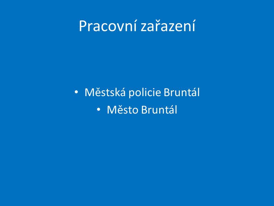 Městská policie Bruntál