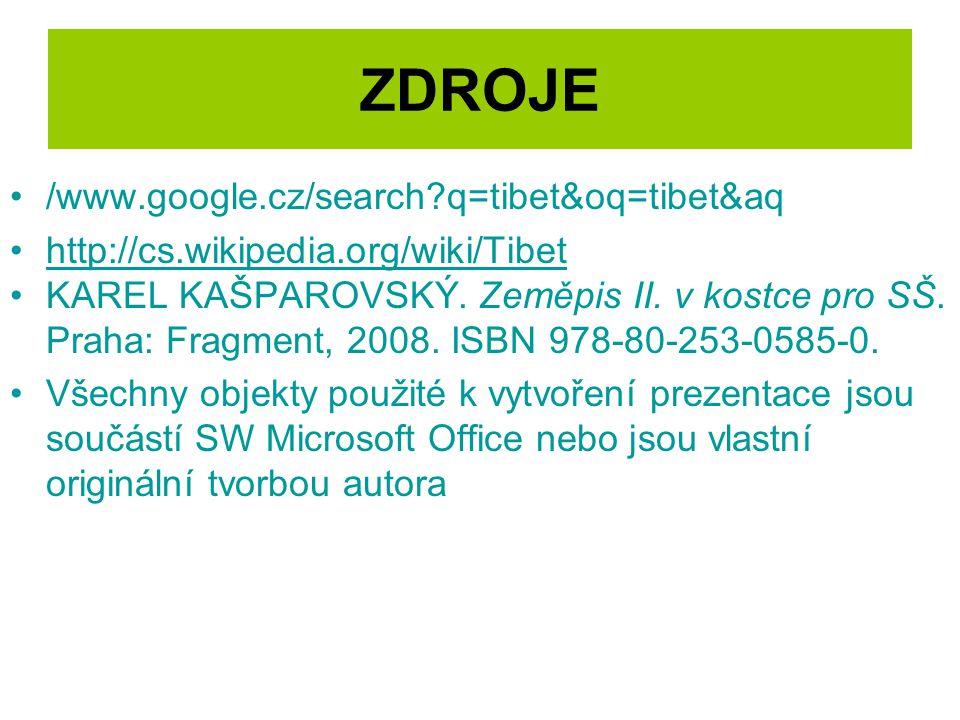 ZDROJE /www.google.cz/search q=tibet&oq=tibet&aq