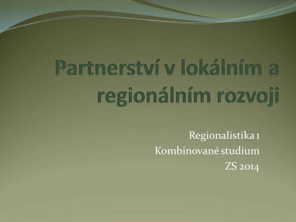 Partnerství v lokálním a regionálním rozvoji