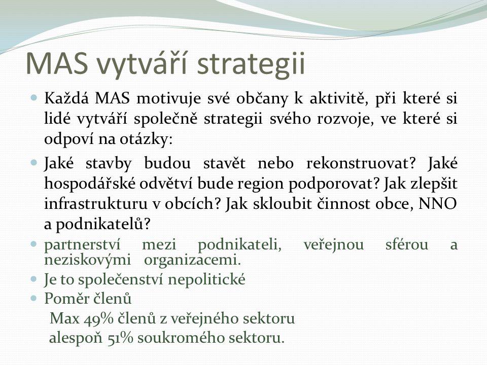 MAS vytváří strategii