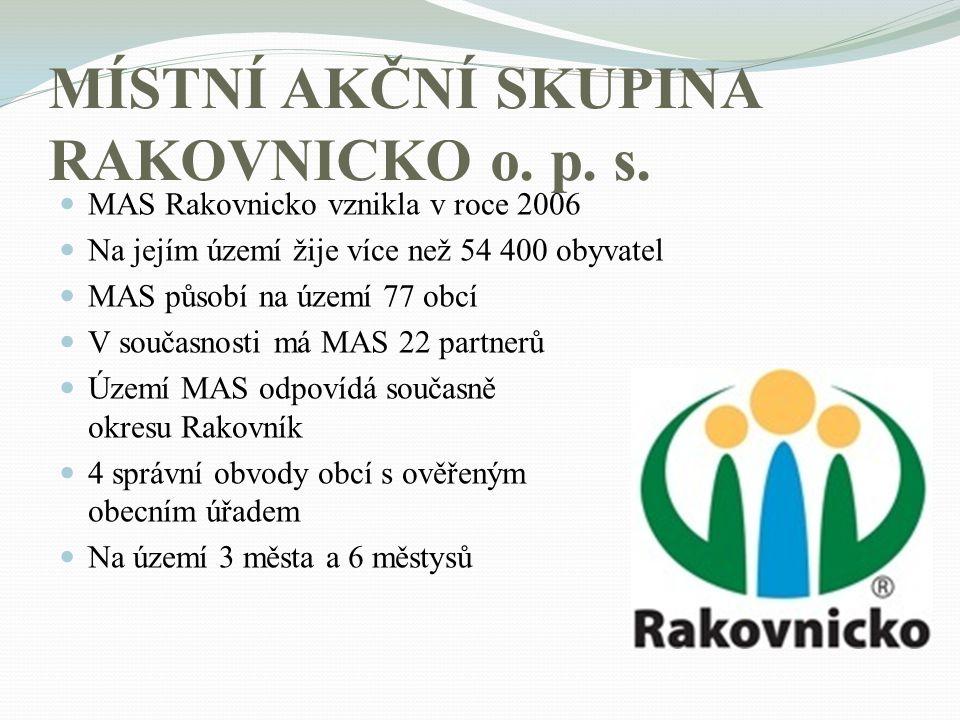 MÍSTNÍ AKČNÍ SKUPINA RAKOVNICKO o. p. s.