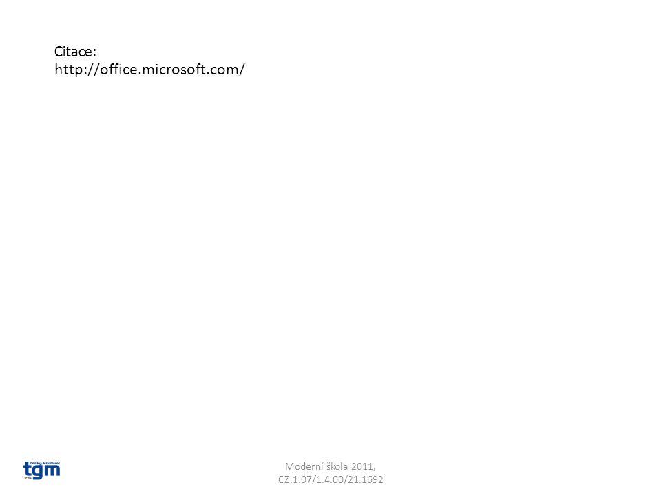 http://office.microsoft.com/ Citace: