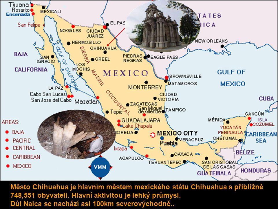 Město Chihuahua je hlavním městem mexického státu Chihuahua s přibližně 748,551 obyvateli. Hlavní aktivitou je lehký průmysl.