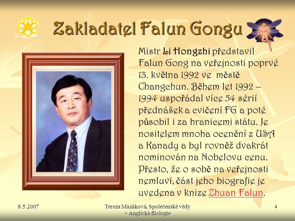 Zakladatel Falun Gongu