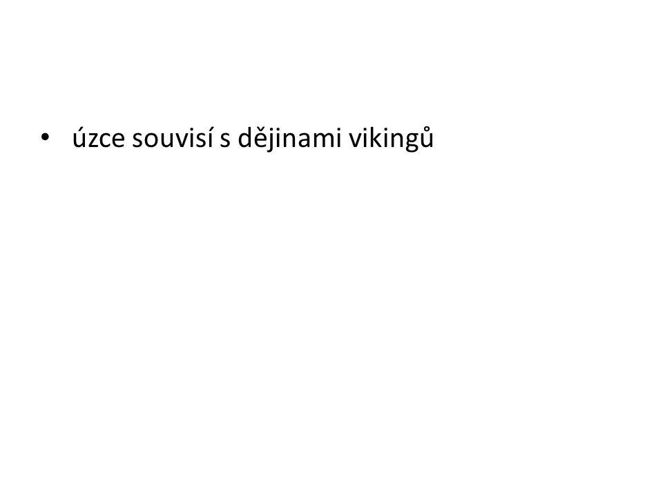 úzce souvisí s dějinami vikingů