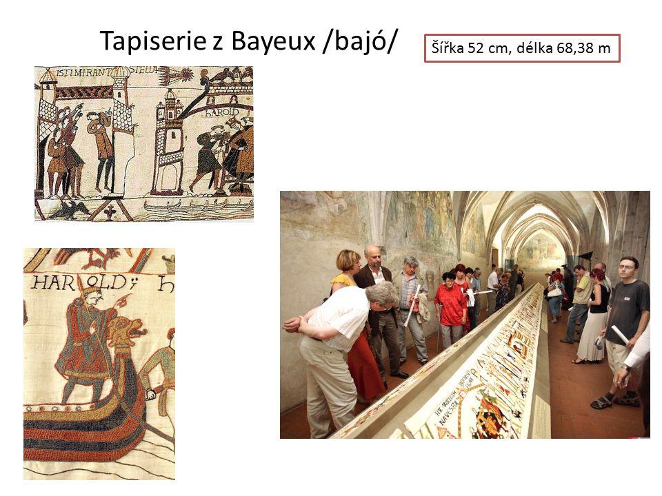Tapiserie z Bayeux /bajó/