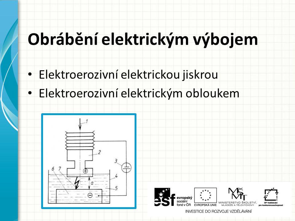 Obrábění elektrickým výbojem