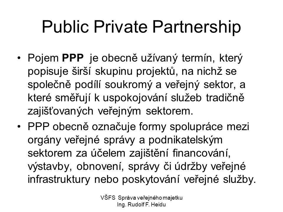 Public Private Partnership