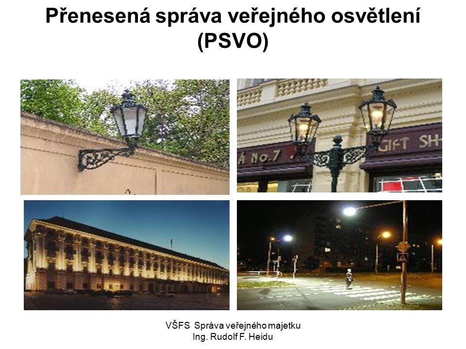 Přenesená správa veřejného osvětlení (PSVO)