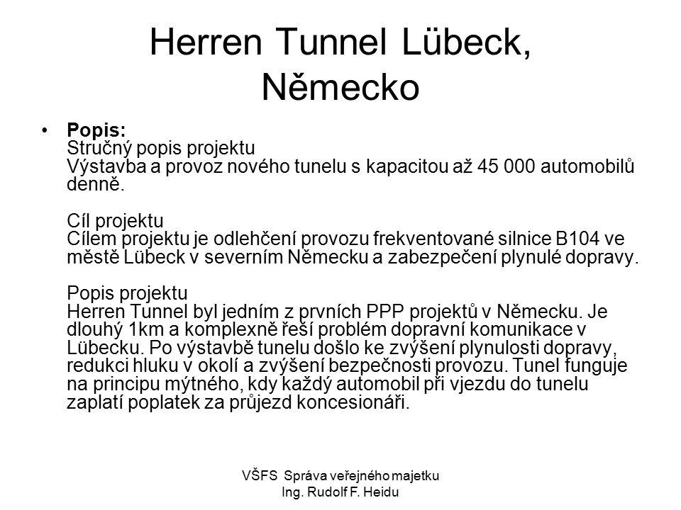 Herren Tunnel Lübeck, Německo