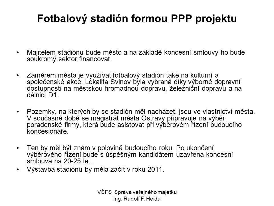 Fotbalový stadión formou PPP projektu