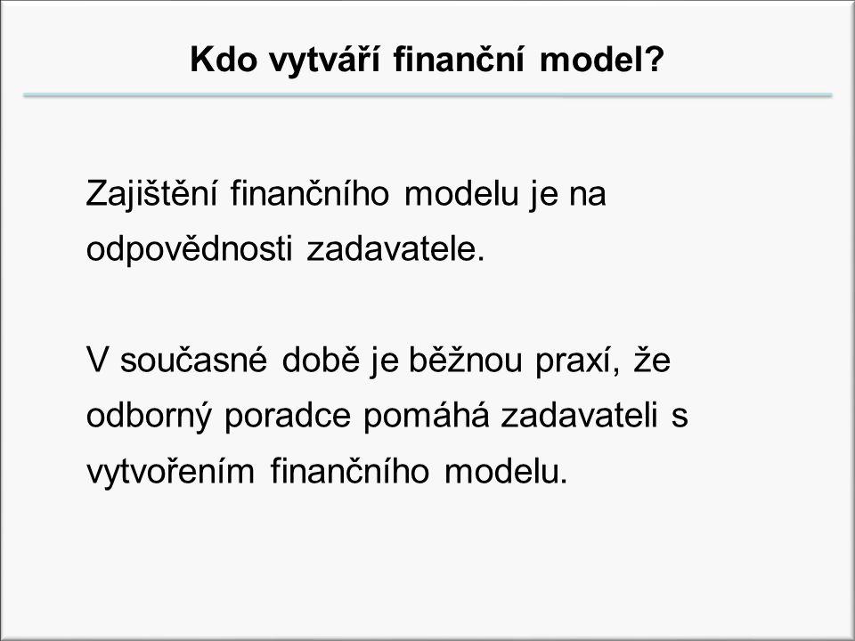 Kdo vytváří finanční model