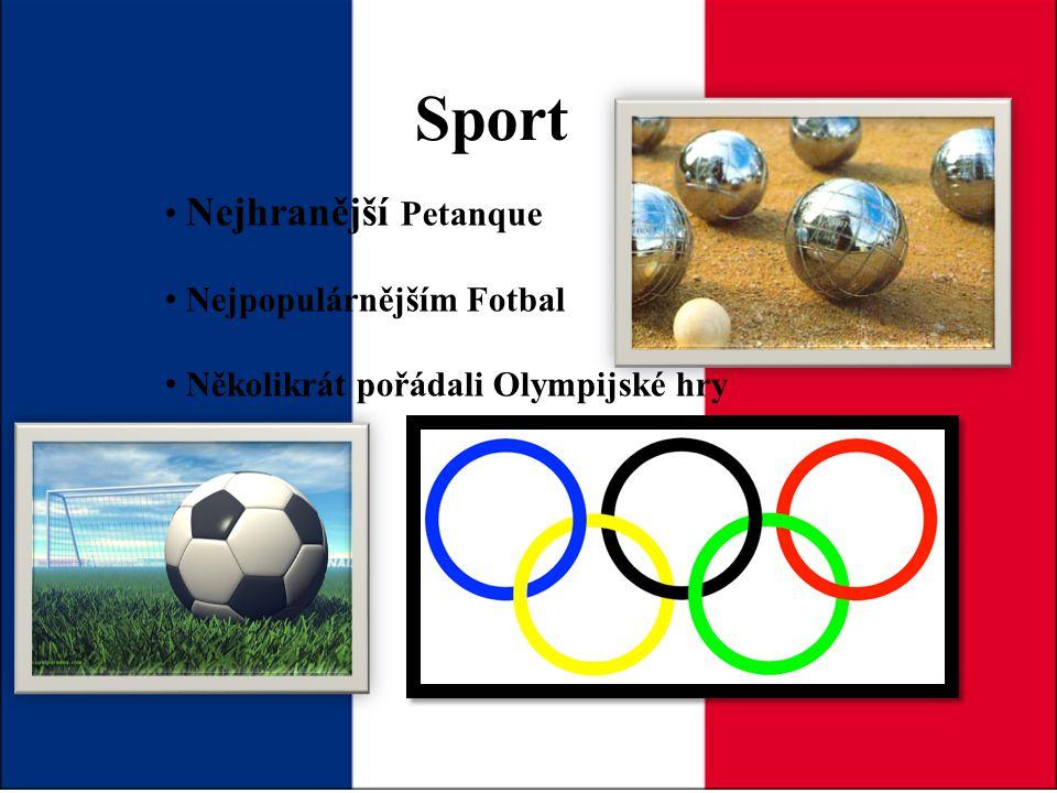 Sport Nejhranější Petanque Nejpopulárnějším Fotbal
