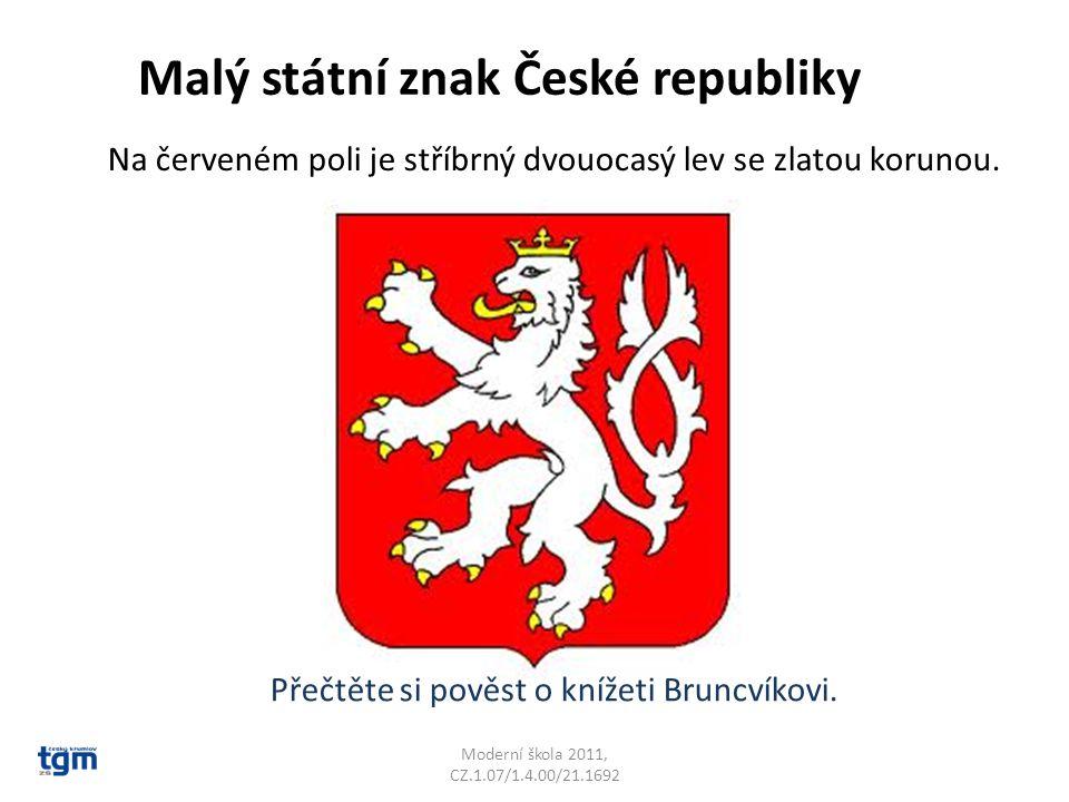 Malý státní znak České republiky