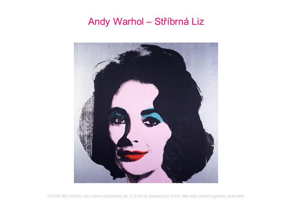 Andy Warhol – Stříbrná Liz