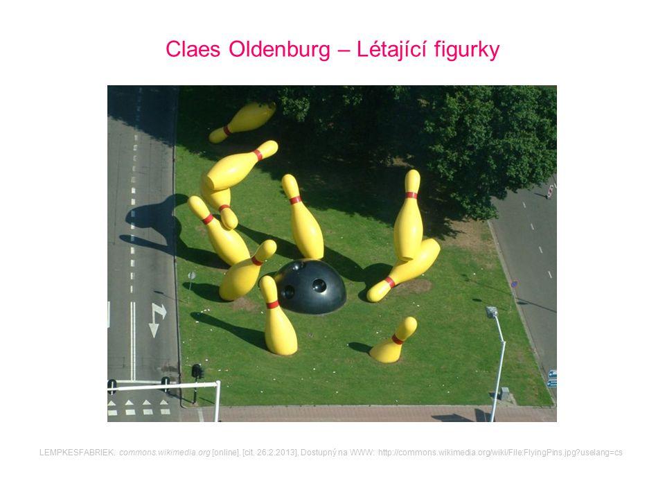 Claes Oldenburg – Létající figurky
