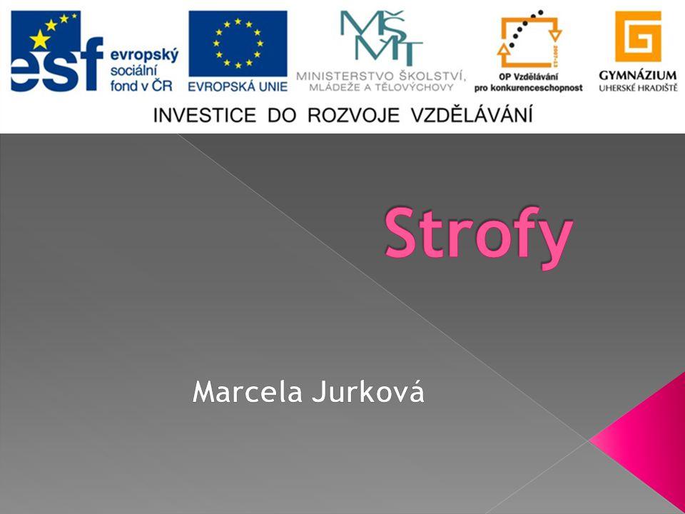 Strofy Marcela Jurková