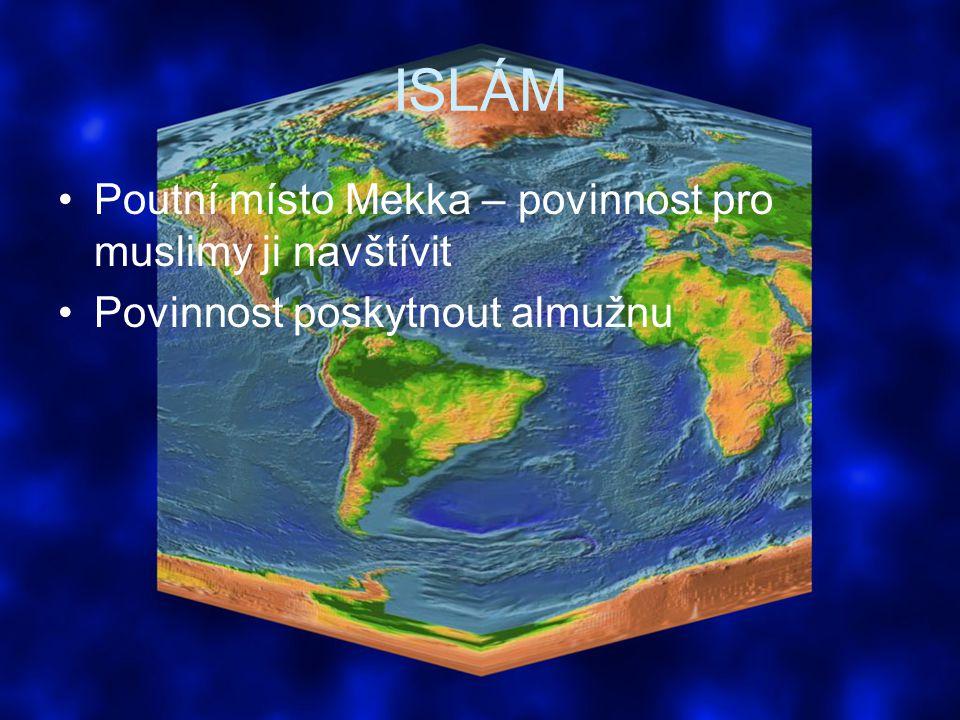 ISLÁM Poutní místo Mekka – povinnost pro muslimy ji navštívit
