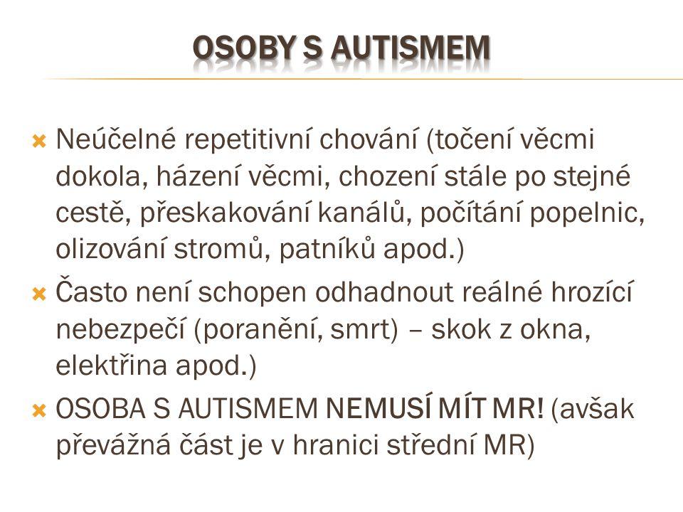 Osoby s autismem