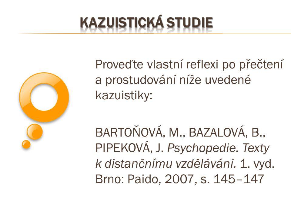 Kazuistická studie