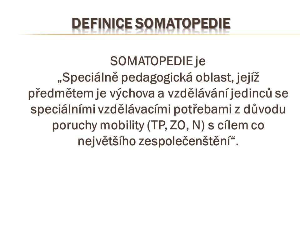 Definice somatopedie