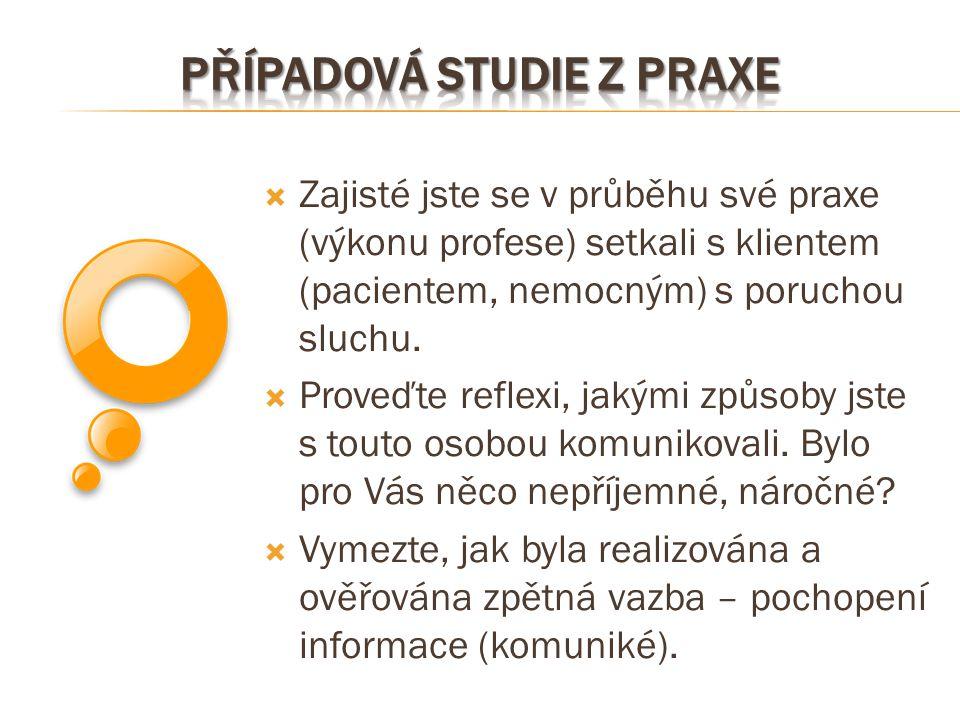 Případová studie z praxe