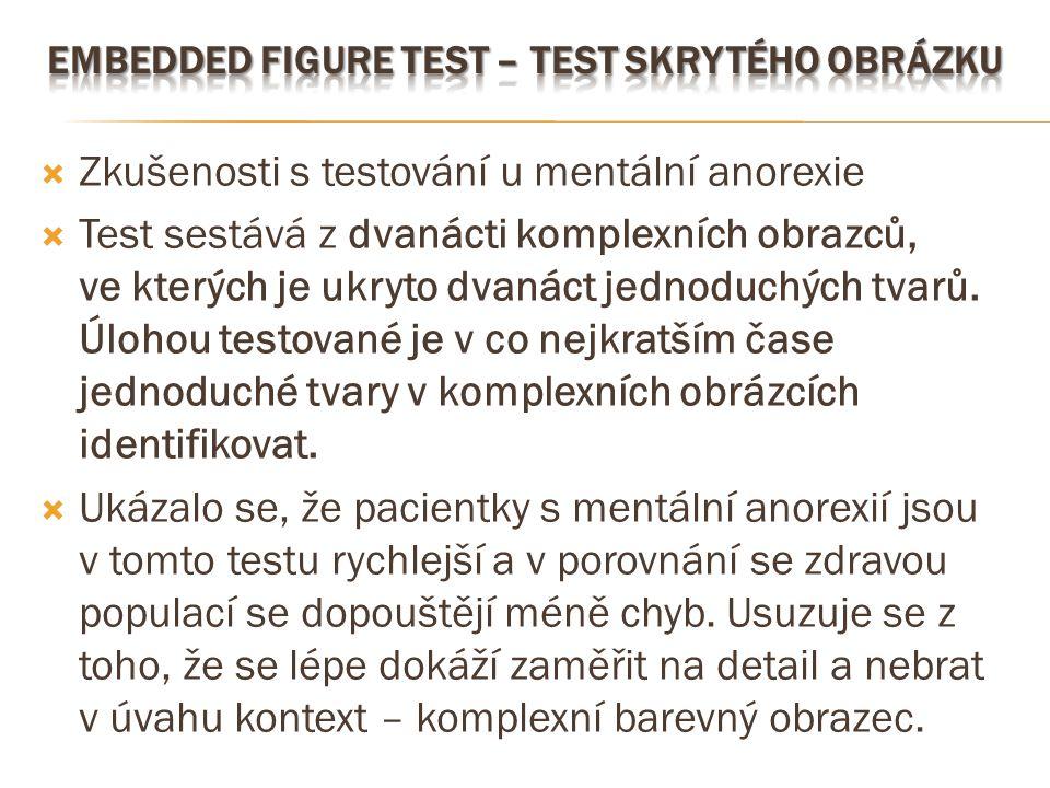 Embedded Figure Test – Test skrytého obrázku