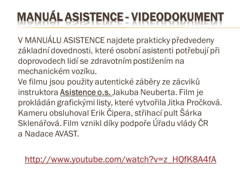 manuál asistence - videodokument
