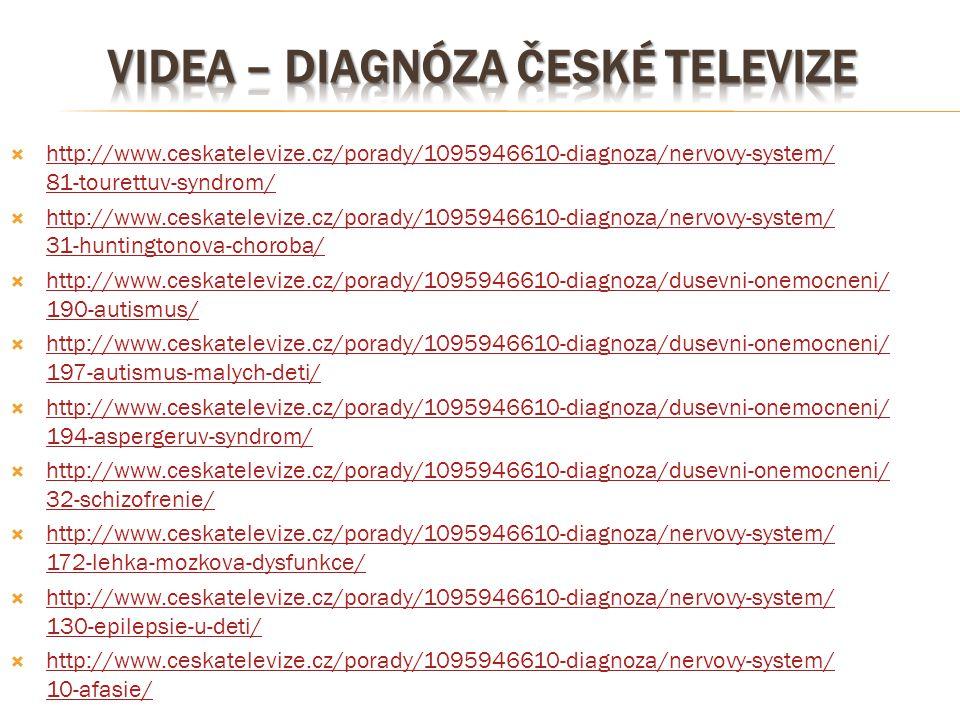 Videa – diagnóza české televize