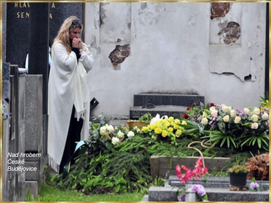 Nad hrobem České Budějovice