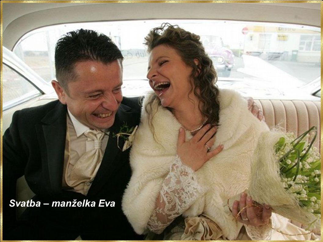 Svatba – manželka Eva