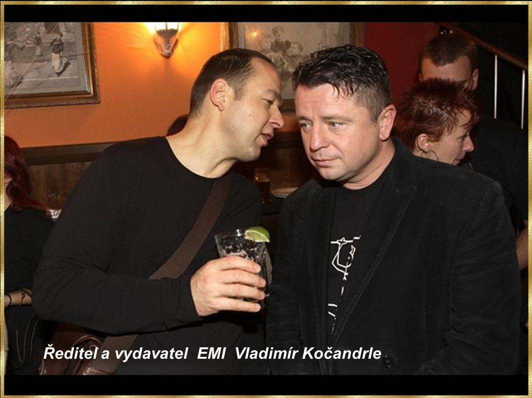 Ředitel a vydavatel EMI Vladimír Kočandrle