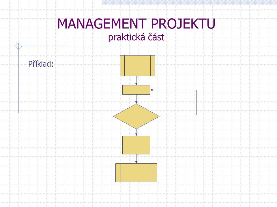 MANAGEMENT PROJEKTU praktická část