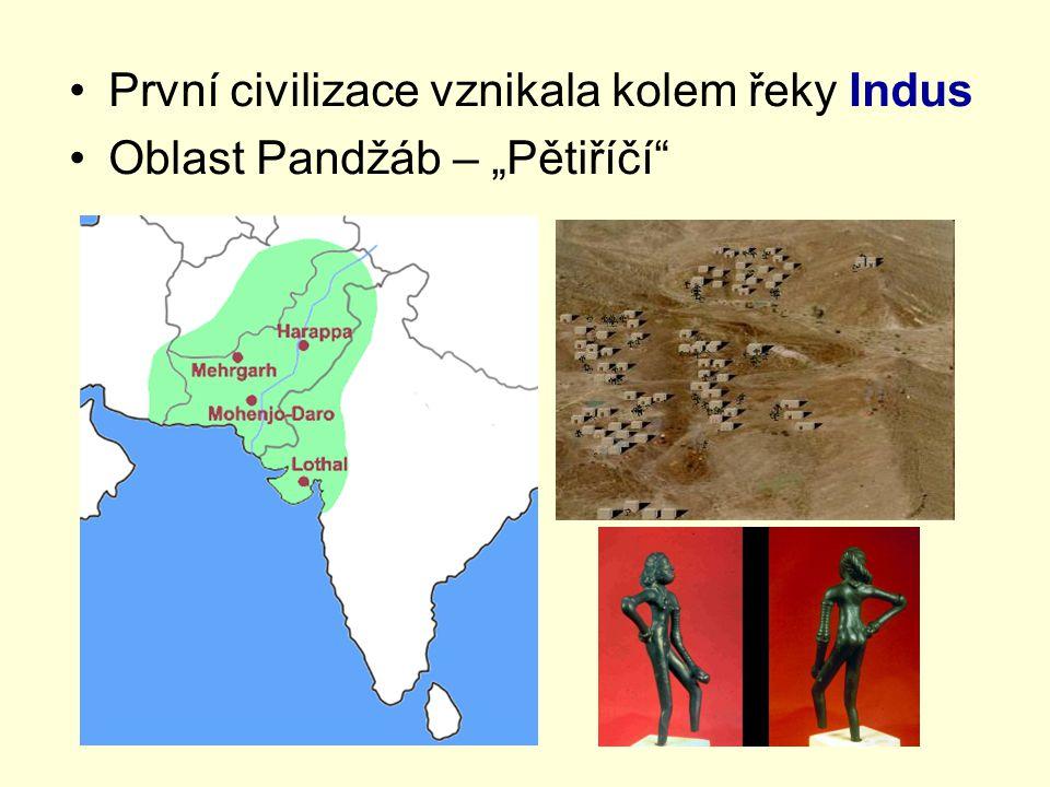 První civilizace vznikala kolem řeky Indus