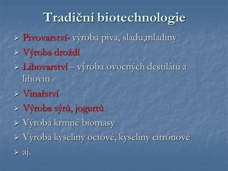 Tradiční biotechnologie
