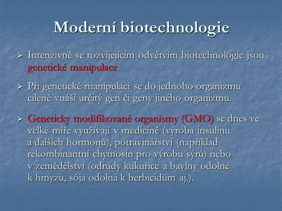 Moderní biotechnologie