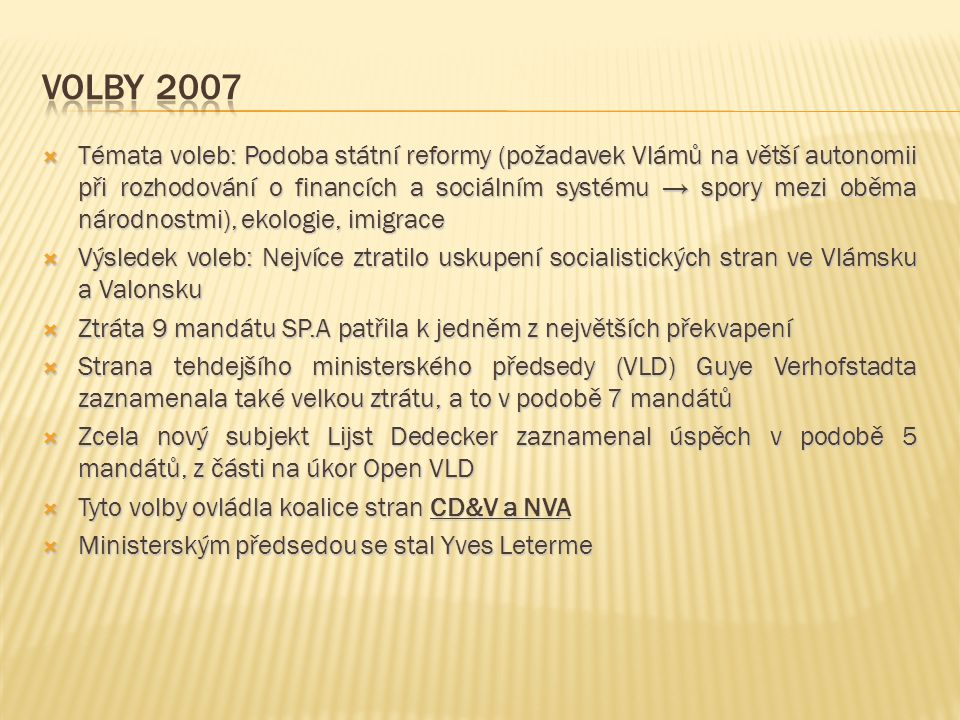 Volby 2007