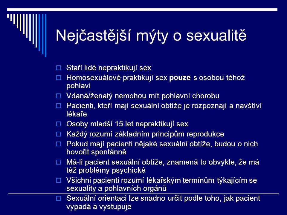 Nejčastější mýty o sexualitě