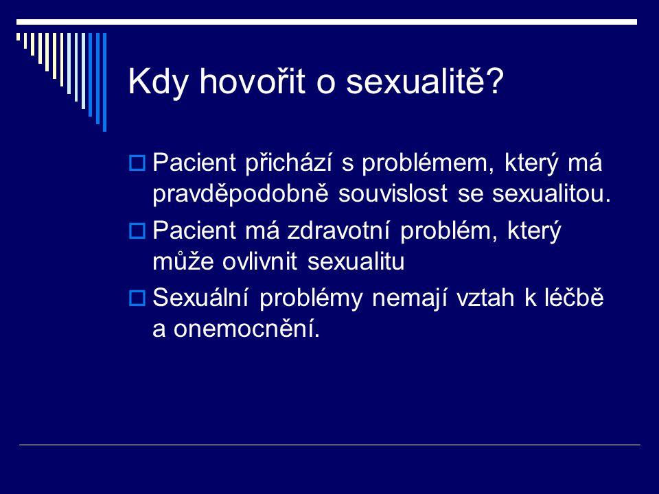 Kdy hovořit o sexualitě