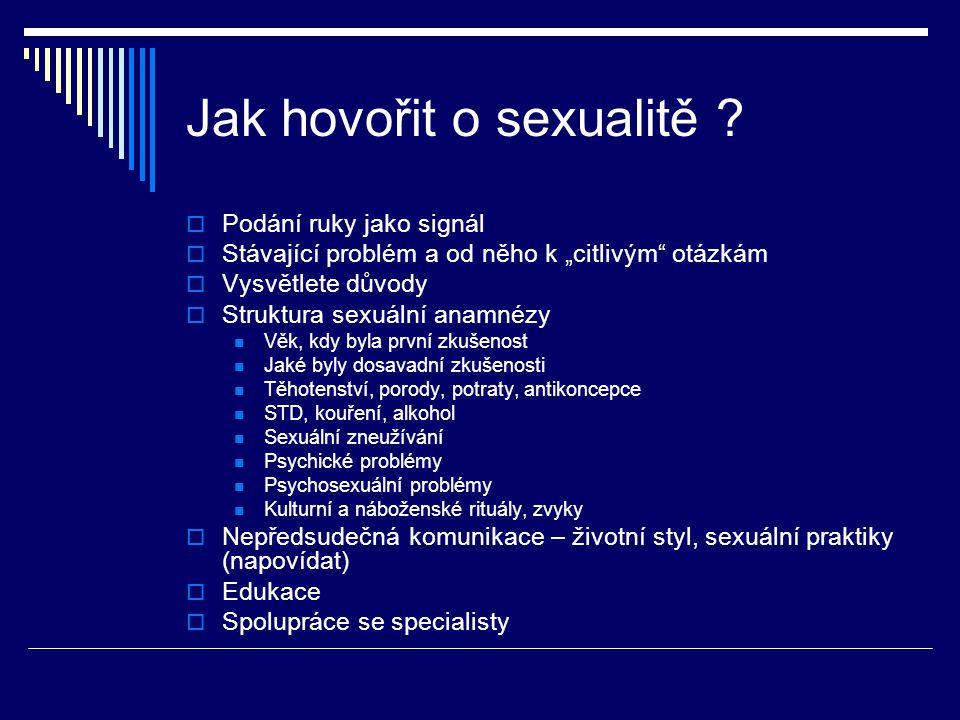 Jak hovořit o sexualitě