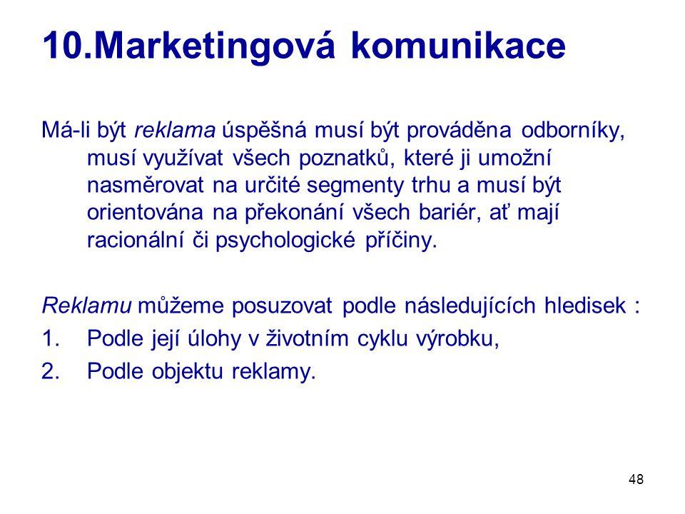 10.Marketingová komunikace